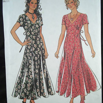 Pattern New Look 1994 Womans Dress size 8  18 by 7thStash on Etsy