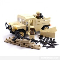 Humvee Army Pickup - Lego Compatible Set