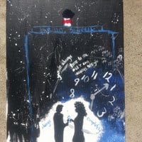 The Doctor and River Song painting 11X14