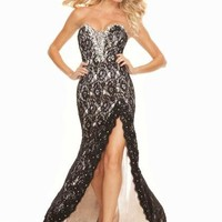 Mori Lee Dress 93052 at Peaches Boutique
