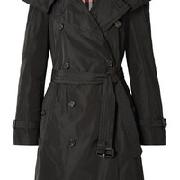 Burberry - The Amberford hooded shell trench coat