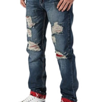 Men's Fashion Holes in Jeans