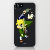 Legend of Zelda - Link Bomb iPhone & iPod Case by Bethany Craig