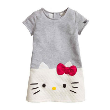 HOT  Hello Kitty Baby Girl dress