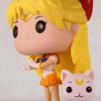 Funko Pop Animation, Sailor Moon, Sailor Venus & Artemis #24