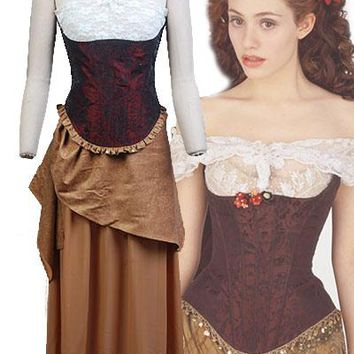 Movie The Phantom of the Opera Cosplay Christine Daae Dress Costume Full Set Uniform Adult Women Halloween Carnival Costume