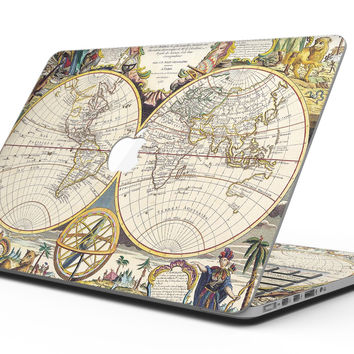 The Vintage Mirroring Hemispheres - MacBook Pro with Retina Display Full-Coverage Skin Kit