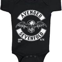 Avenged Sevenfold Deathbat Black One Piece