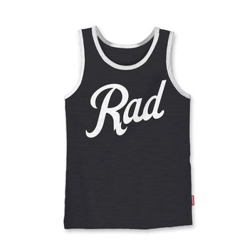 Rad Tank Top Black