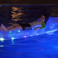 DELUXE LED ILLUMINATED POOL PARTY FLOAT