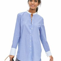 Banana Republic Womens Tux Collar Tunic