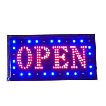 Neon Lights LED Animated Open Sign Customers Attractive Sign  Shop Sign 220V