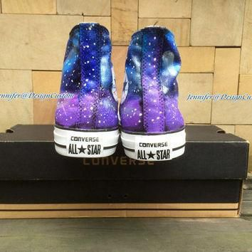 2015 new galaxy converse nebula converse hand painted shoes galaxy custom painted shoe