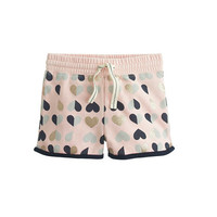 crewcuts Girls Pull-On Track Short In Flipped Hearts