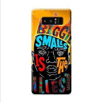Biggie smalls is the illest Samsung Galaxy Note 8 case