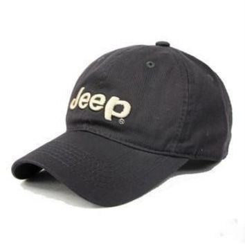 JEEP Women Men Embroidery Leisure Sport Sunhat Baseball Cap Hat-1
