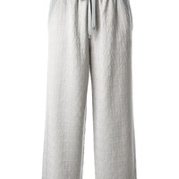 Missoni wide leg jacquard trousers