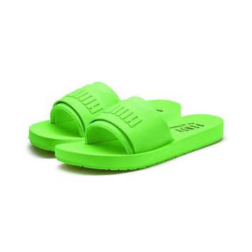 FENTY Women's Surf Slide | Green Gecko-Green Gecko | PUMA Fenty Collection | PUMA United States