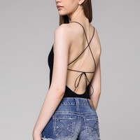 Tie Back Body Suit