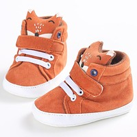 Curan Baby Boy Fox High Top Sneaker