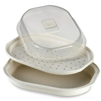 prepworks® Meals in Minutes Microwave Fish and Vegetable Steamer