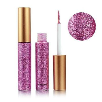 10 Colors Glitter Waterproof Liquid Eyeliner Eyeshadow