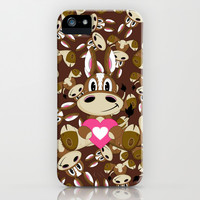 Cute Valentine Horse iPhone & iPod Case by markmurphycreative