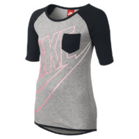 Nike Half-Sleeve Raglan Pocket Girls' Top