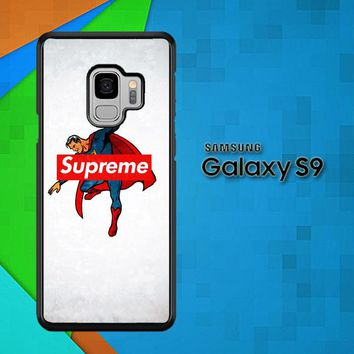Supreme Trend Superman Hero Logo L2006 Samsung Galaxy S9 Case