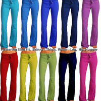 Bright Color Yoga/Pajama/ Lounge/Cozy Anti -Pill Fleece Pants warm fit custom made