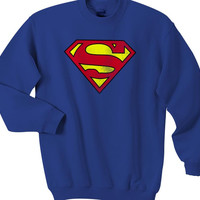 Superman Marvel Superhero Sweatshirts Unisex Sweater Unisex Sweatshirt Unisex Adult Sweater