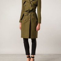 Balmain Double Breasted Coat - The Webster - Farfetch.com