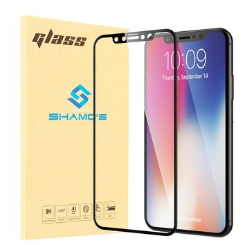For iPhone XS and iPhone X Screen Protector Tempered Glass