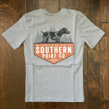 Southern Point - Youth Signature Tee - Pointer Gray