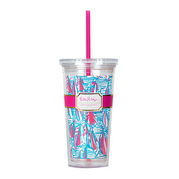 LILLY PULITZER: Tumbler - Red Right Return