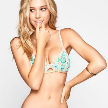 Bikini Lab Someday Bralette Bikini Top Multi  In Sizes
