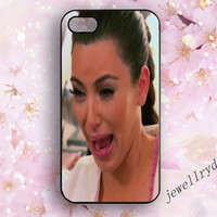 Kim kardashian iPhone 5 cases,Crying Ugly iPhone 5s cases,Kardashian iPhone 4/4s case,Kim kardashian Crying samsung galaxy s3 s4 s5 case