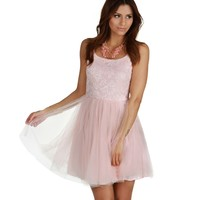 Sale- Pink Tullin Around Party Dress