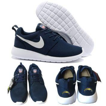 Nike San Diego Chargers London Olympics Navy Blue Shoes