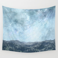 Mystic Mountains Wall Tapestry by Barruf Designs