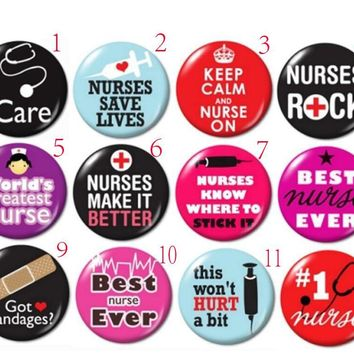 Nurse Retractable id badge reel