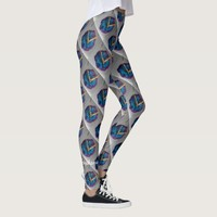Personalized Bottoms Up Dancing Legs Wearable Art Leggings