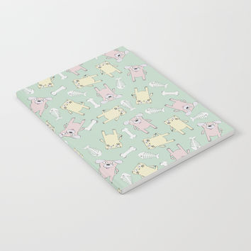 Raining Cats and Dogs Notebook by lalainelim