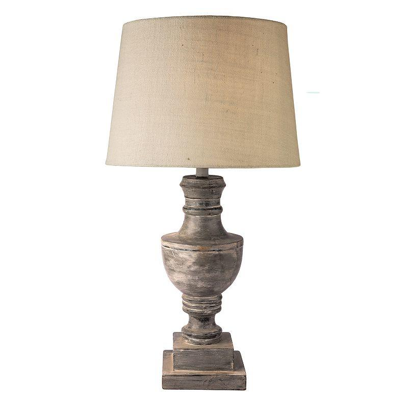 Admiral Table Lamp Grey From Kohls