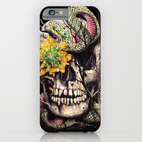 Snake and Skull iPhone & iPod Case by Nicebleed