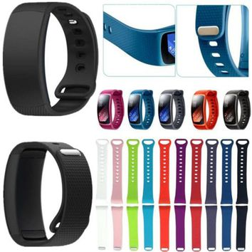 Large/Small Size Silicone Strap for Samsung Gear Fit 2 Pro Band Soft Sport Wristband for Samsung Gear Fit 2 SM-R360 Wristband