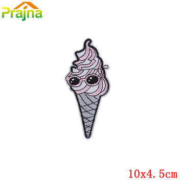 16Pcs Mixture Sell Lipstick Unicorn Patch Cute Badge Iron On Cheap Vintage Embroidered Cartoon Patches For Kids Clothes Stickers