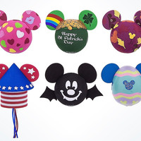 Disney Parks Mickey Mouse Holiday Set Antenna Toppers Set of 6 New Sealed