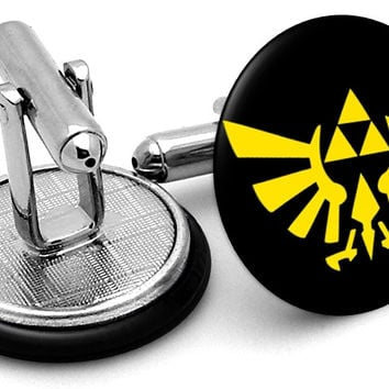 Zelda Triforce Symbol Cufflinks