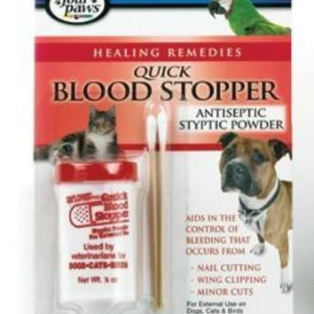Four Paws Antiseptic Blood Stopper Styptic Powder .5 oz